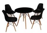 Mesas e cadeiras Eames com 10% de desconto no Carrefour