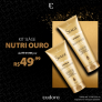 Kit Siàge Nutri Ouro em oferta da loja na Eudora