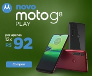 Lançamento: Moto G8 Play na Motorola