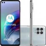 """Lançamento: Motorola G100 256GB 5G Wi-Fi 6.7"""" 12GB RAM Câmera Tripla + Selfie 16MP + 8MP Luminous Sky no Shoptime"""