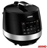 Lançamento: Compre Panelas de Pressão Elétrica Arno Digital Control 2,5 ou 5 litros e ganha voucher de R$ 100,00 no Fast Shop