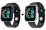Leve dois Relógios Smartwatch Y68 por um preço no Sou Barato