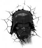 Luminária de Parede 3D Light FX Darth Vader em oferta da loja Outlet & Class