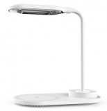 Luminária LED de Mesa com Carregador Wireless 10W com 35% de desconto no Sou Barato