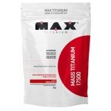 Mass Titanium 17500 3 kg sabor morango na Centauro