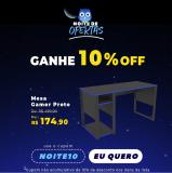 Mesa Gamer com 10% de desconto Extra na Marabraz