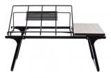 Mesa de colo dobrável para notebook de até 17 polegadas com 10% de desconto na Outlet & Class