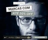 Óculos Nike, Calvin Klein, Chloé, Lacoste, Salvatore Ferragamo e outras com 30% de desconto na Okulos