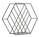 Outlet: Revisteiro Zina 38 cm X 33 cm em oferta da loja Camicado