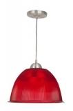 """Pendente Luminária Prismática 12"""" – 30 cm em várias Cores"""