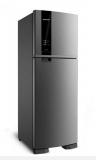 R$ 200,00 de desconto na Brastemp Frost Free Duplex 375 litros cor Inox com Espaço Adapt 220V na Brastemp