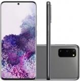 Samsung Galaxy S20 128GB Dual Chip 8GB RAM 4G Tela Infinita de 6.2″ Cosmic Gray em oferta da loja Girafa