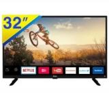 Smart TV Philco LED 32″  HD Com Conversor Digital e WIFI Integrados modelo PTV32G50SN preta no Ricardo Eletro