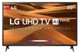 Smart TV LED 49″ LG Ultra HD Thinq AI Conversor Digital Integrado 3 HDMI 2 USB Wi-Fi 49UM7300 nas Americanas