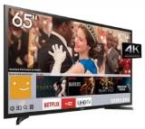 Smart TV LED 65″ Ultra HD 4K Samsung LH65 3 HDMI 2 USB Wi-Fi em oferta da loja Ricardo Eletro