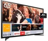 Smart TV Samsung 4K LED Ultra Hd 65″ Lh65Benelga/Zd preta em oferta da loja Eletrum
