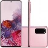 Samsung Galaxy S20 128GB Dual Chip 8GB RAM 4G Tela Infinita de 6.2″ Cloud Pink em oferta da loja Girafa