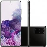 Samsung Galaxy S20 Plus 128GB Dual Chip 8GB RAM 4G Tela Infinita de 6.7″ Cosmic Black em oferta da loja Girafa