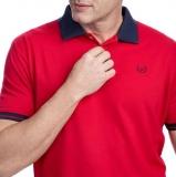 Três camisas polos básica por um preço na Camisaria Colombo