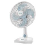 Ventilador de Mesa Ultra V16 30 cm azul e branco em oferta da loja Ponto Frio