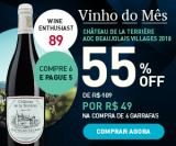 Vinho do Mês: Château de La Terrière Beaujolais Villages 2018 em oferta da loja Chez France