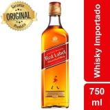 Whisky Escocês Red Label Garrafa 750 ml com 16% de desconto no Shoptime