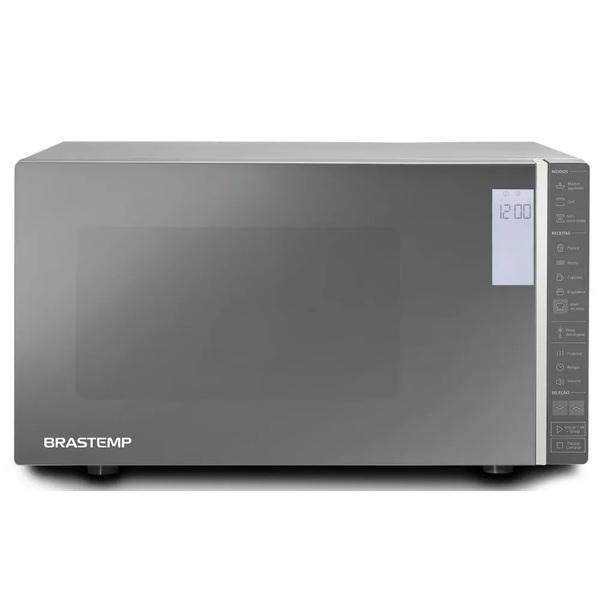 Micro – ondas Brastemp 32 Litros cor Inox Espelhado com Grill e Painel Integrado 220V BMG45ARBNA (Entregue por Brastemp)