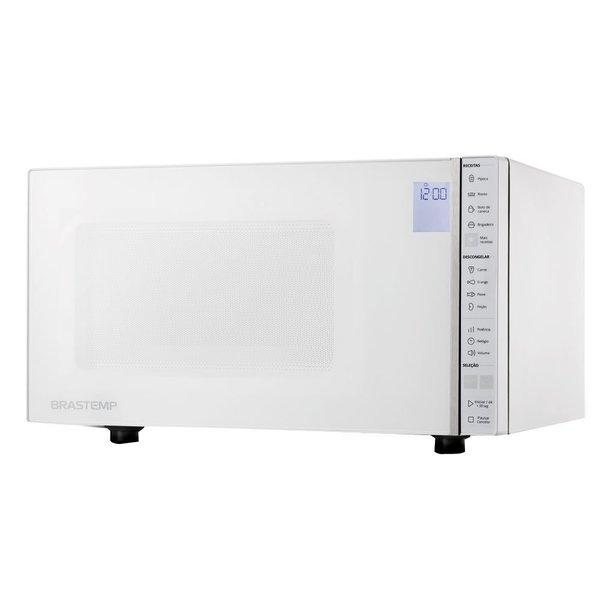 Micro – ondas Brastemp 32 Litros Branco com Painel Integrado 220V BMS45CBBNA (Entregue por Brastemp)