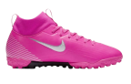 Chuteira Nike Mercurial Superfly 7 Academy Mbappé Rosa Infantil em oferta da loja Nike