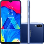 Smartphone Samsung Galaxy M10 32GB Dual Chip Android 9.0 Tela 6,2″ Octa-Core 4G Câmera 13+5MP – Preto